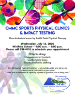 sports physicals poster winifred